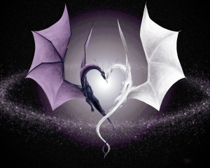 two-dragons-heart-shape