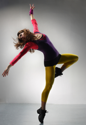 a yoga dance