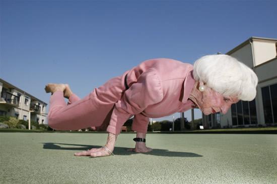 yoga grandma