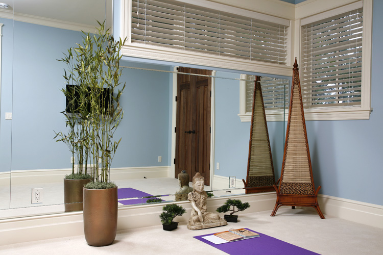 Yoga Room Colors carve out a space for your yoga | a charmed yogi