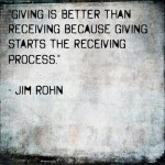 jim rohn quote on giving