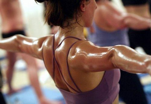 bikram yogini