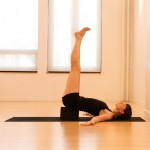 supported shoulderstand yoga pose