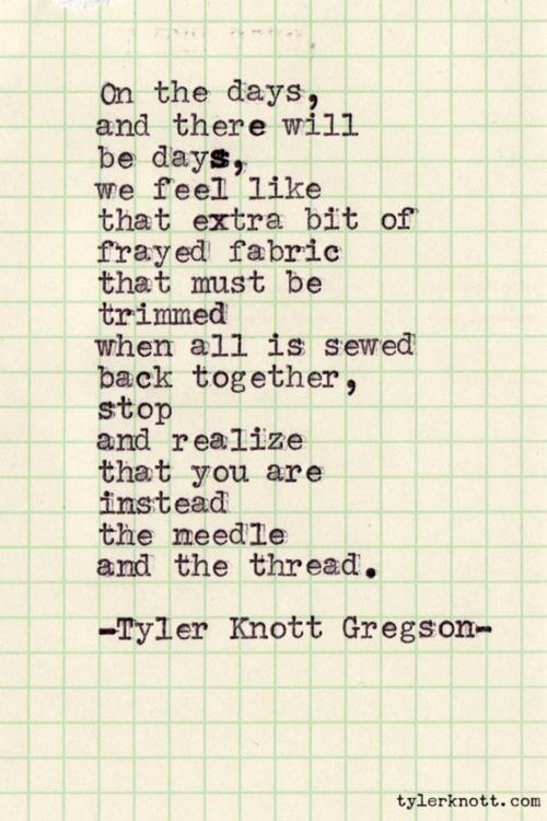 tyler knott poem