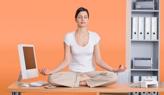 desk meditation