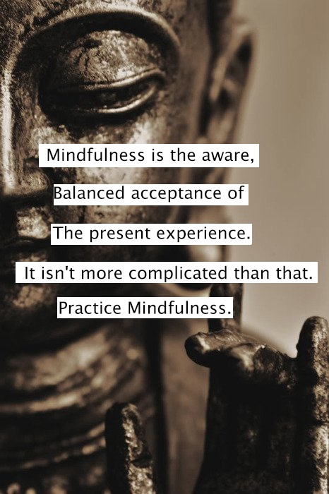 practice mndfulness