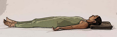 Savasana with Head Support