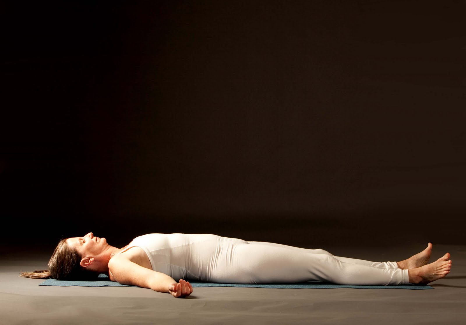 woman in savasana